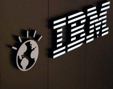 Bỏ mảng sản xuất vi mạch, lợi nhuận quý 3 của IBM giảm 99,6%