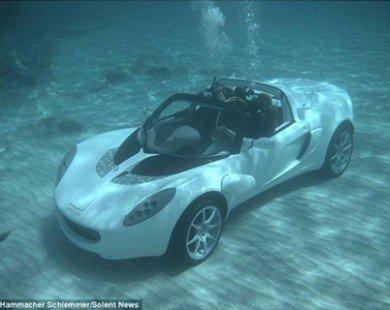 Cận cảnh chiếc ôtô đi được dưới nước đầu tiên trên thế giới