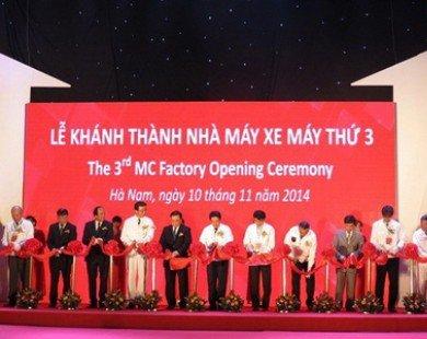 Honda đầu tư 120 triệu USD xây dựng nhà máy thứ ba tại Việt Nam