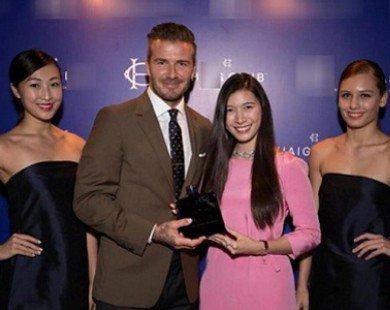 Ái nữ tập đoàn nghìn tỷ ăn tối cùng David Beckham tài năng cỡ nào?