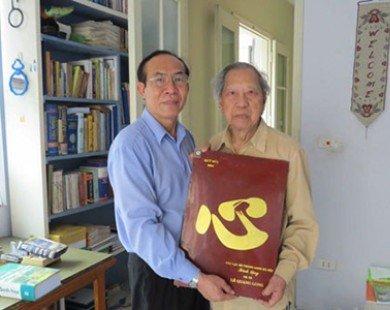 Người thầy nhận danh hiệu Nhà giáo nhân dân ở tuổi 95