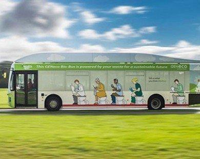 Xe buýt chạy bằng chất thải con người tại Anh