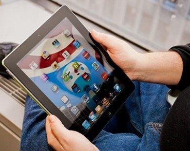Thị trường máy tính bảng lăn dốc cùng sự suy giảm của iPad