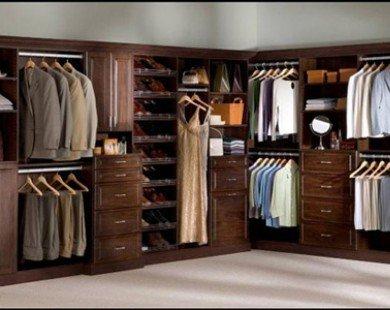Ý tưởng thiết kế tủ quần áo cho căn phòng của bạn