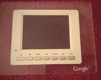 """Ngắm chiếc tablet của Google thời """"tiền sử"""""""