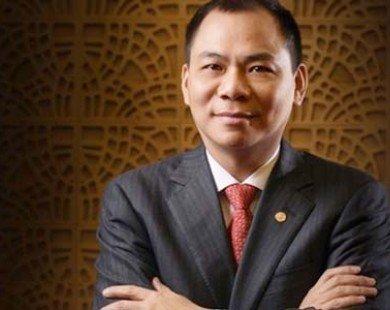 Tỷ phú đô la Phạm Nhật Vượng dẫn đầu khối siêu giàu với tài sản khủng