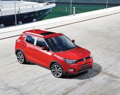 SsangYong Tivoli – Xe SUV cỡ nhỏ siêu rẻ hoàn toàn mới
