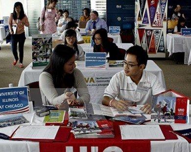 Tư vấn miễn phí trong triển lãm du học Mỹ quy mô đầu tiên tại Hà Nội