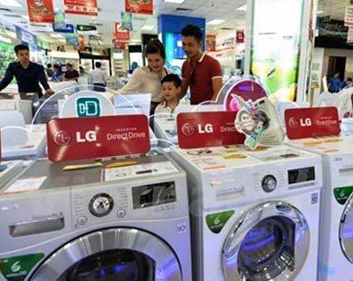 Top 5 dòng sản phẩm máy giặt bán chạy nhất trong tháng Hai