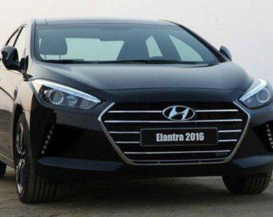 Rò rỉ hình ảnh Hyundai Elantra 2016