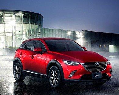 Mazda CX-3 2016: Xe cao cấp cho phân khúc bình dân