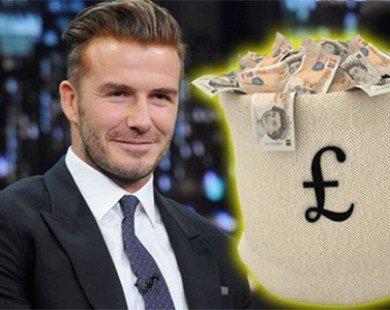 Giải nghệ, David Beckham trở thành cỗ máy in tiền