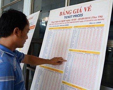 Giảm giá vé tàu trên các tuyến đi Vinh, Đà Nẵng, TP Hồ Chí Minh