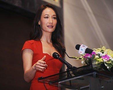 Minh tinh Hollywood Maggie Q cùng dàn sao Việt