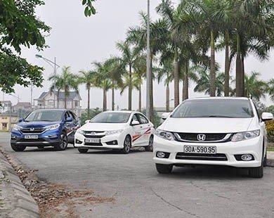 Trải nghiệm phong cách mới cùng Honda Ô tô Tây Hồ khuấy động Sơn Tây