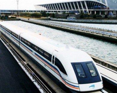 Tàu đệm từ Nhật lập kỷ lục thế giới với vận tốc 603 km/h