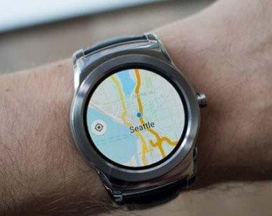 Google Maps xuất hiện trên Android Wear