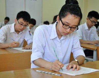 Kỳ thi THPT quốc gia 2015: Thí sinh được thay đổi môn thi từ nay đến 27.5