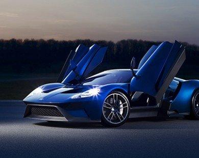 Ford sắp trở lại đường đua Le Mans với siêu xe Ford GT