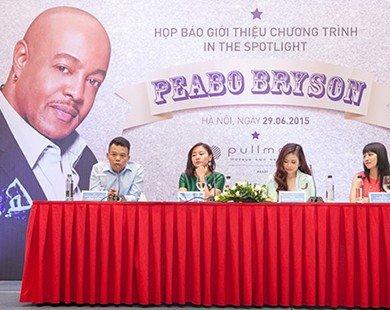 Văn Mai Hương cùng Uyên Linh song ca với Peabo Bryson