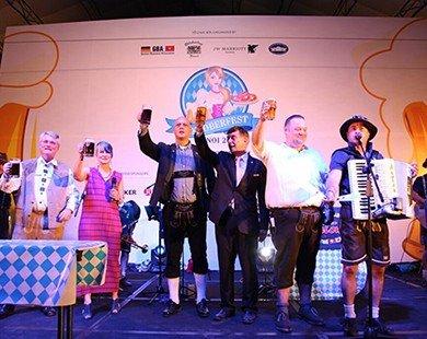 Đón chào lễ hội bia Đức Oktoberfest 2015 lớn nhất tại Hà Nội lần 2 tại JW Marriott Hotel Hanoi