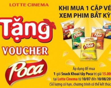 Khuyến mãi Lotte Cinema tặng voucher