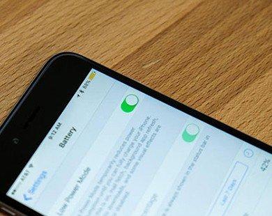 Cách tiết kiệm pin cho iPhone, iPad chạy iOS 9