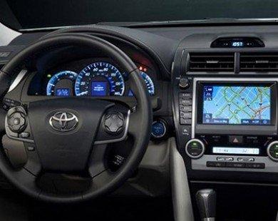 Toyota loại Apple, Google trong cung cấp thiết bị điều hướng xe
