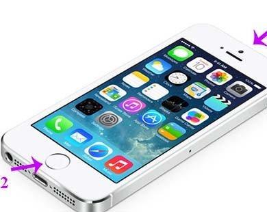 Cách khởi động lại iPhone, iPad khi bị treo