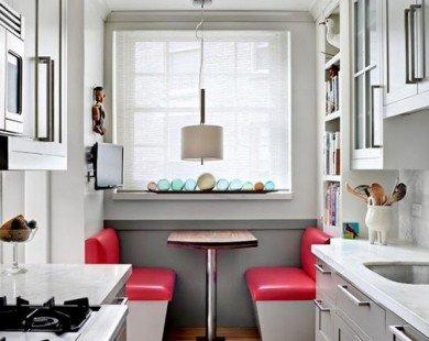 5 giải pháp thông minh cho căn hộ không có phòng ăn