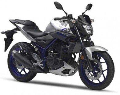 Naked bike giá rẻ Yamaha MT-03 chính thức được bày bán