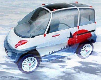Fomm Concept One - Mẫu xe điện có thể lội nước