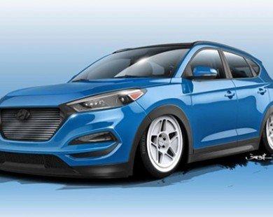 Hyundai Tucson nằm sát mặt đất, công suất hơn 700 mã lực lộ diện