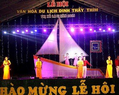 Khai hội Lễ hội văn hóa du lịch Dinh Thầy Thím năm 2015