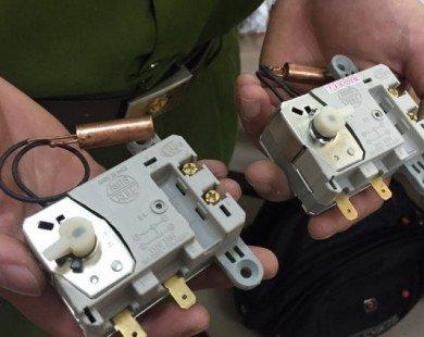 Thu giữ hàng nghìn thiết bị bình nóng lạnh giả xuất xứ Trung Quốc