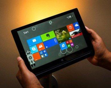 Windows có thể chiếm 18% thị phần tablet vào 2019