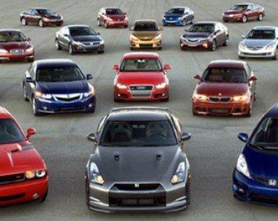 Bảng giá xe ôtô tháng 12-2015