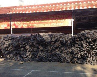 Hơn 25.000 ống nhựa nghi hàng giả, hàng nhái