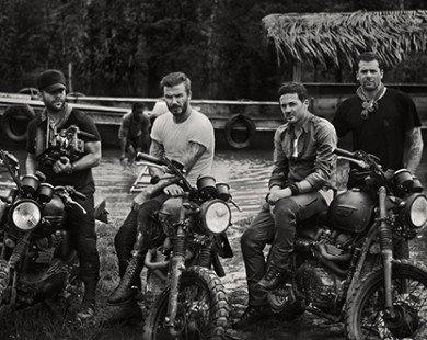 Thú chơi siêu môtô khủng của David Beckham
