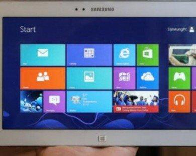 Samsung sắp trình làng máy tính bảng 12 inch chạy Windows 10