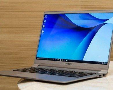 Laptop siêu mỏng, nhẹ từ Samsung thách thức MacBook Air