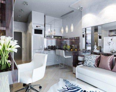 Hai căn hộ diện tích dưới 30 m2 đẹp và tiện ích