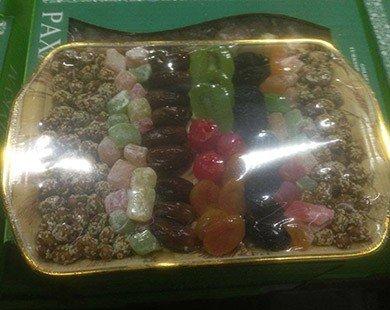 Bánh kẹo Tết hàng ngoại cũng bị nhái