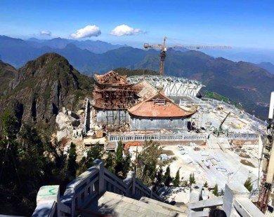 Trải lòng của phượt thủ về xây cáp treo trên đỉnh Fansipan