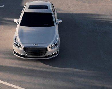 Cận cảnh sedan hạng sang Genesis G90