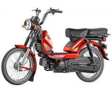 TVS XL 100 - Xe máy 100 phân khối giá chỉ 9,6 triệu Đồng