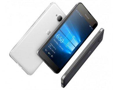 Microsoft ra mắt Lumia 650 chạy Windows 10 Mobile