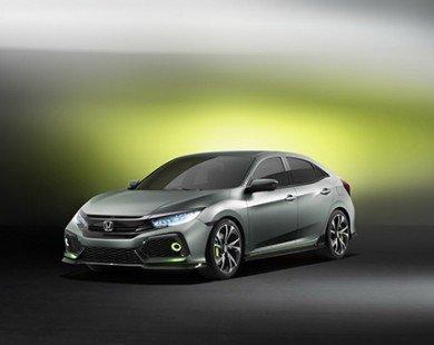 Nguyên mẫu Honda Civic hatchback mới góp mặt tại Triển lãm Geneva 2016
