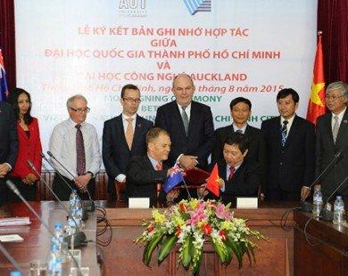 Việt Nam-New Zealand hợp tác giáo dục và trao đổi sinh viên