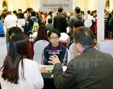 Gần 1.000 người tham dự triển lãm Du học Hoa Kỳ 2016